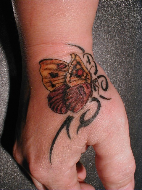 Tattoo Greifswald  Schmetterling