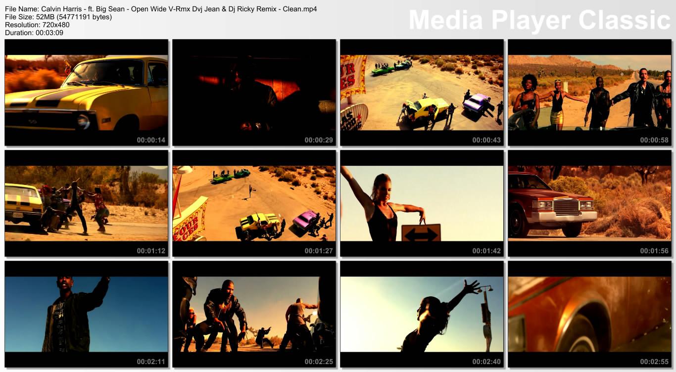 Calvin Harris - ft. Big Sean - Open Wide V-Rmx Dvj Jean & Dj Ricky Remix - Clean.mp4