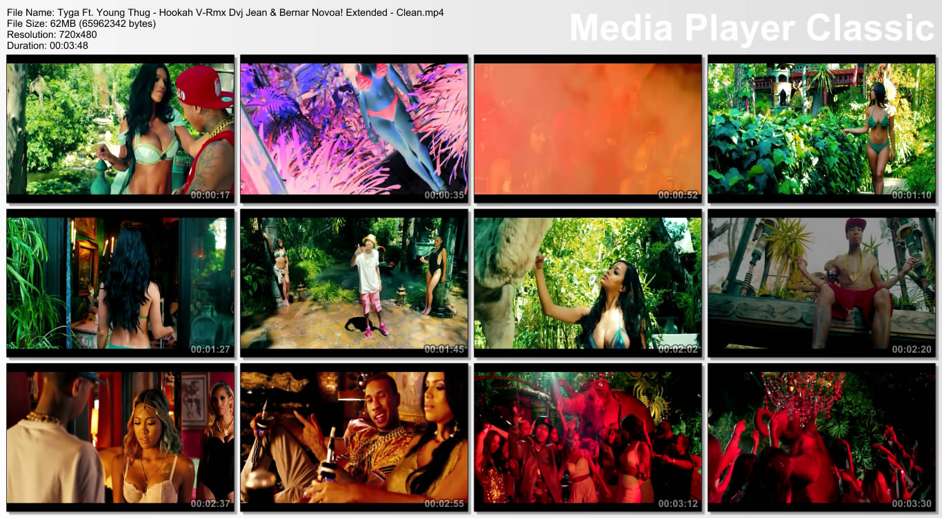 Tyga Ft. Young Thug - Hookah V-Rmx Dvj Jean & Bernar Novoa! Extended - Clean.mp4