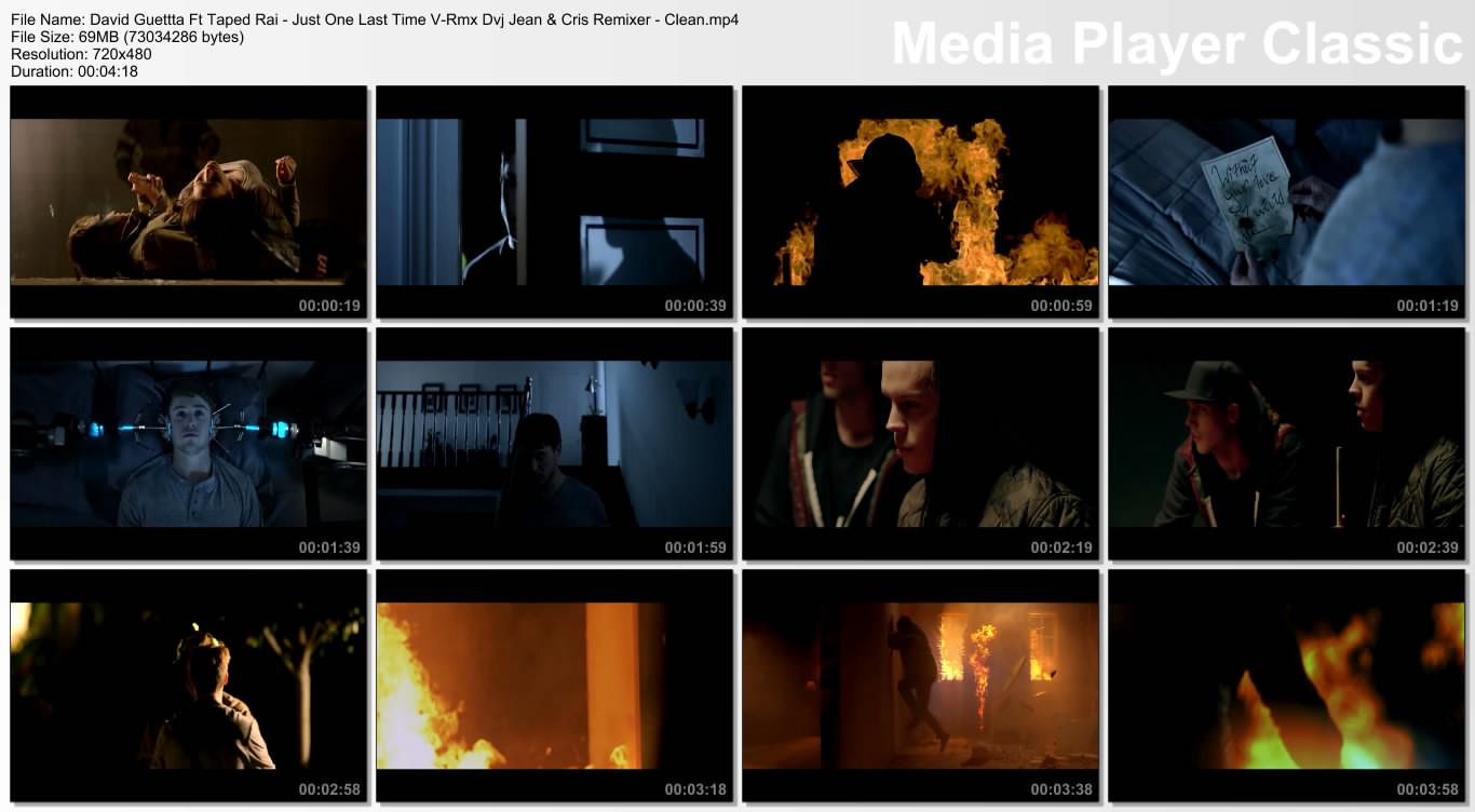 David Guettta Ft Taped Rai - Just One Last Time V-Rmx Dvj Jean & Cris Remixer - Clean.mp4