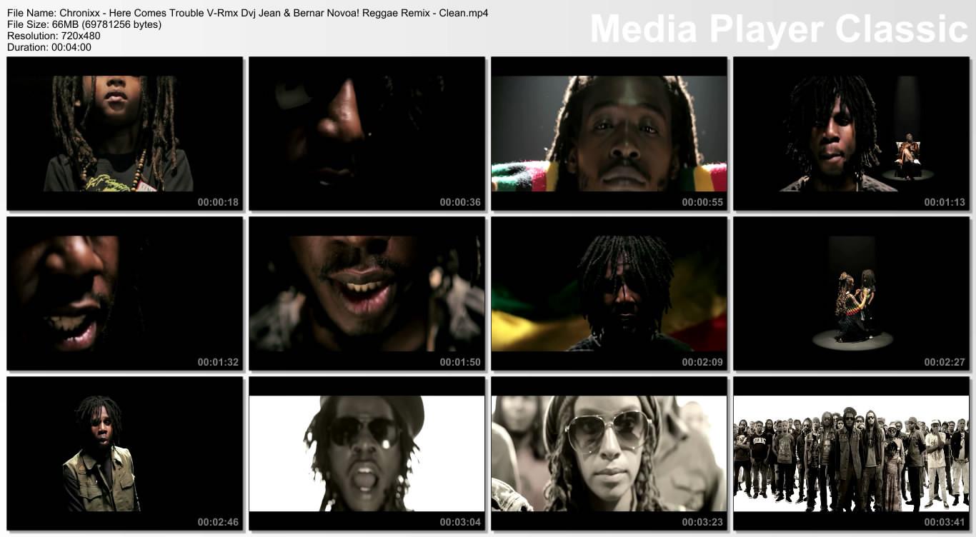 Chronixx - Here Comes Trouble V-Rmx Dvj Jean & Bernar Novoa! Reggae Remix - Clean.mp4
