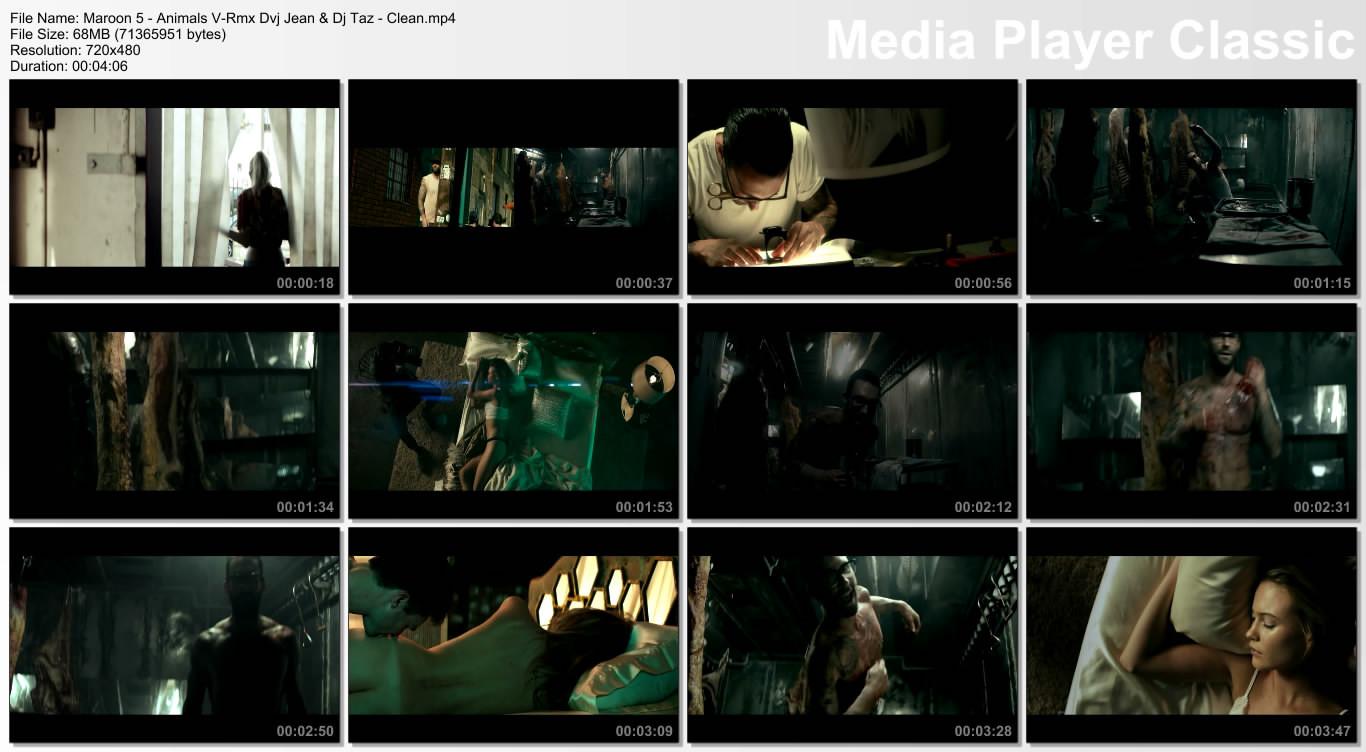 Maroon 5 - Animals V-Rmx Dvj Jean & Dj Taz - Clean.mp4