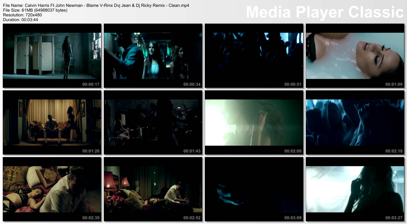 Calvin Harris Ft John Newman - Blame V-Rmx Dvj Jean & Dj Ricky Remix - Clean.mp4