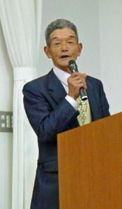 石沢英夫さん