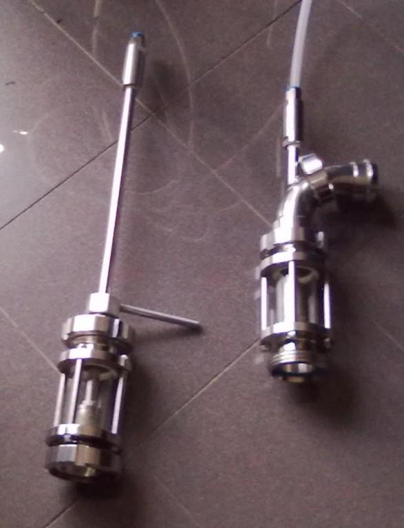 22 -Asta Retrattile e Gas Mixer - Nebulizzatori dell'Impianto
