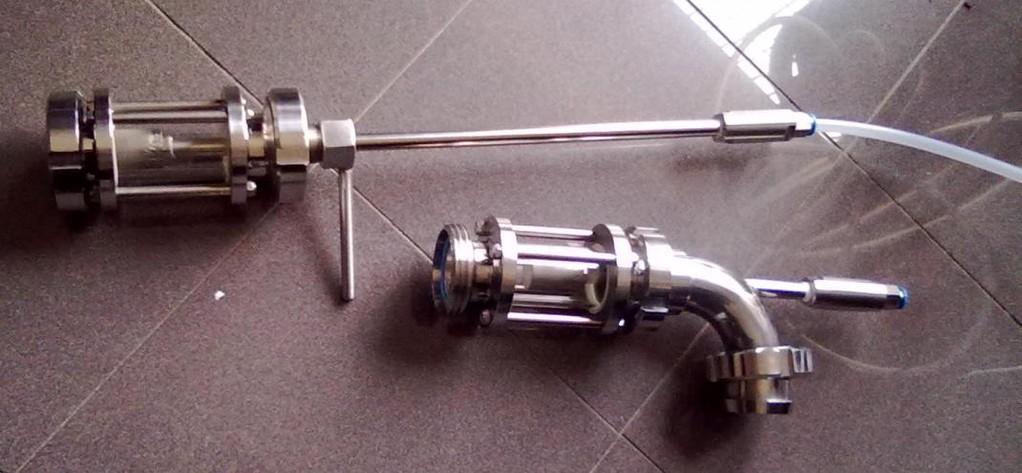 25 -Asta Retrattile e Gas Mixer - Nebulizzatori dell'Impianto