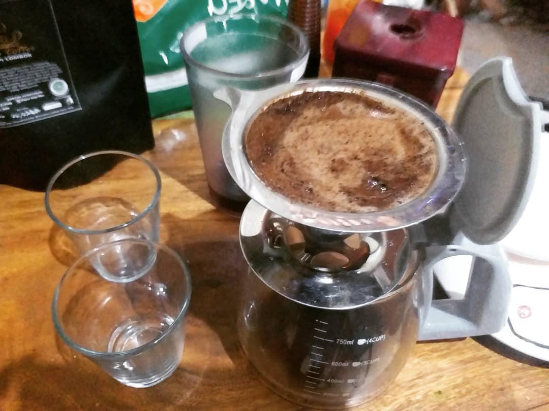 Kaffee aus Sopians Kaffee-Laden Foto: Sopian El-Hadi, mit freundlicher Genehmigung