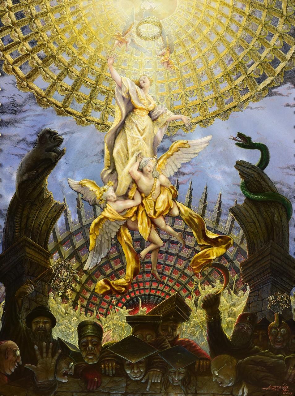 Maria Himmelfahrt - Christliche Kunst - Ars Sacra - verkäuflich
