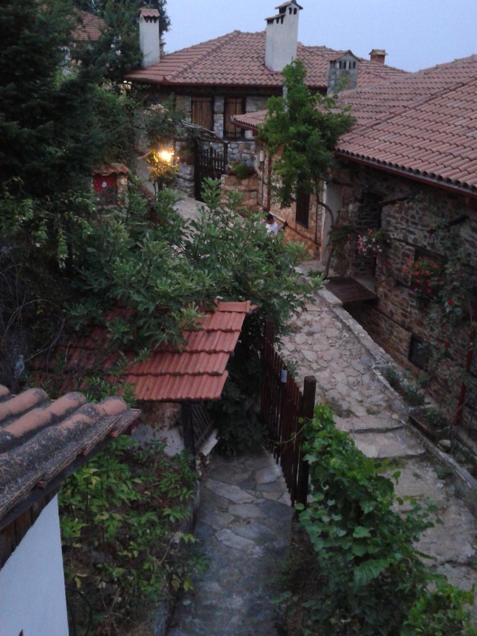 Die kleinen Häuser in unserem Dorf