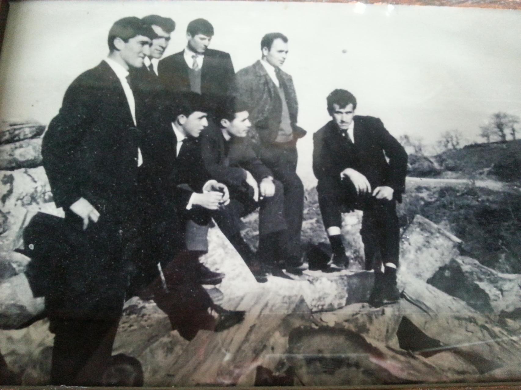 Junge Griechen 1960