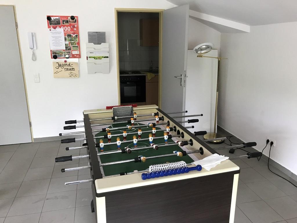 Kicker-Tisch für spannende Matches