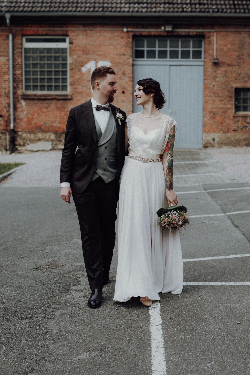 urbane Hochzeit von Alina Atzler