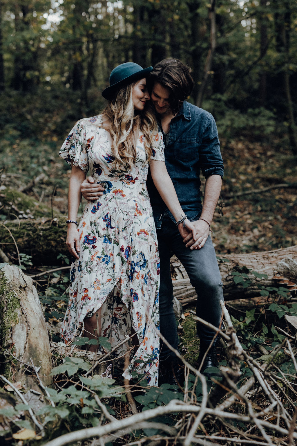Boho Couple Shooting in Hamburg by Alina Atzler Fotografie