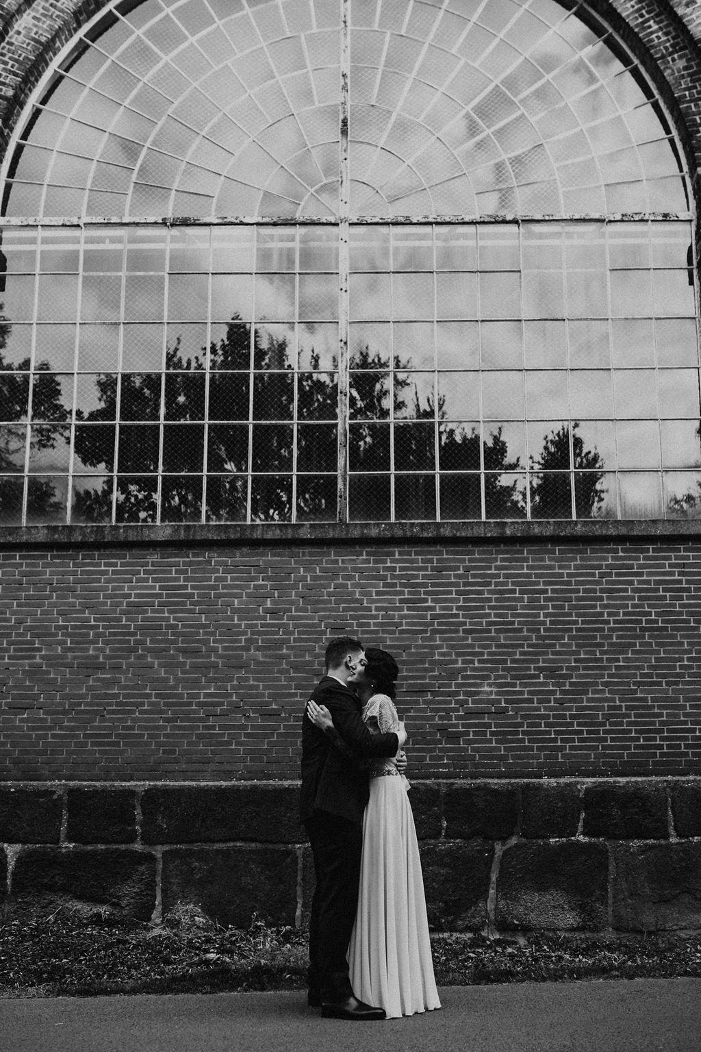 Hochzeit in Industrielocation von Alina Atzler