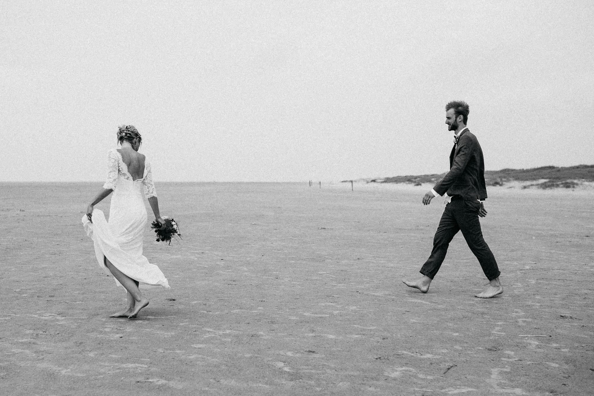 Hochzeit am Strand von Sankt Peter-Ording