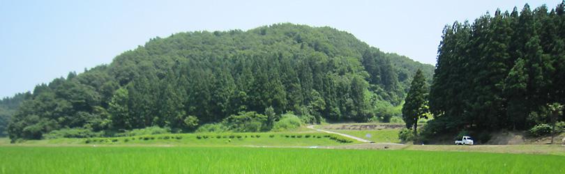 山間のきれいな水と肥沃な大地