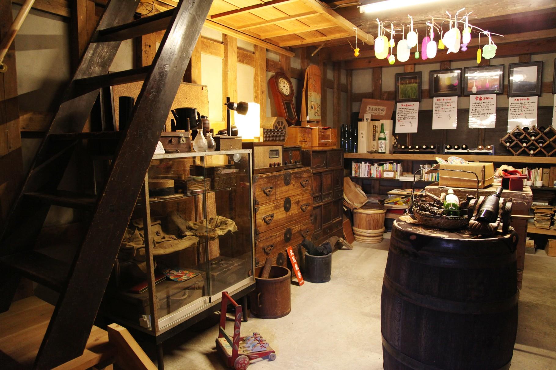 1階部分~明治・大正時代の品々を陳列