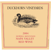 DUCKHORN HOWELL MOUNTAIN RED WINE 2004