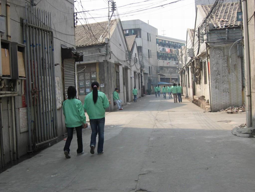 Wohnstätten der Fabriksarbeiter