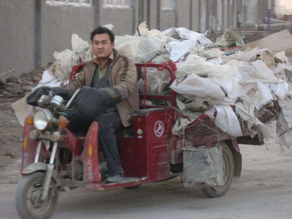 Moped löst das Rad ab