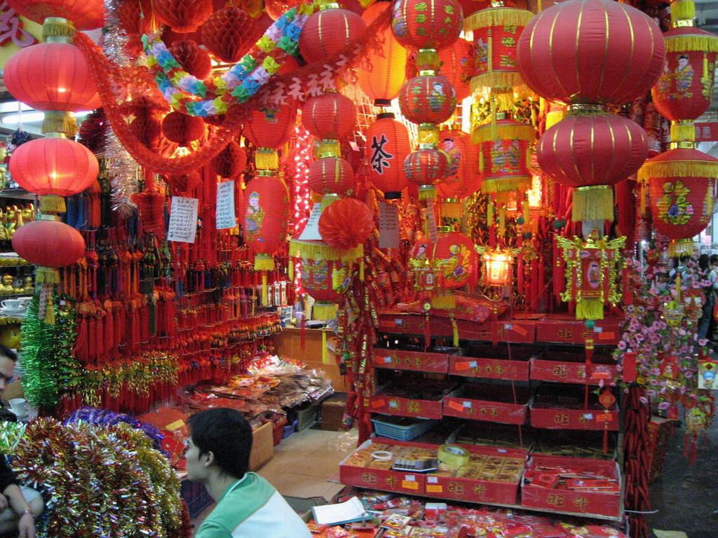 Haizhou Markt, Ramsch für den Westen