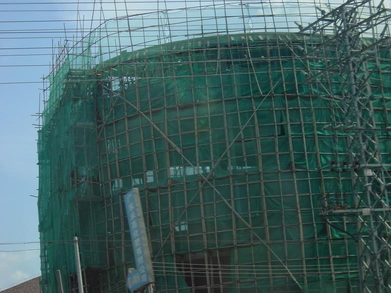 Bambusgerüste