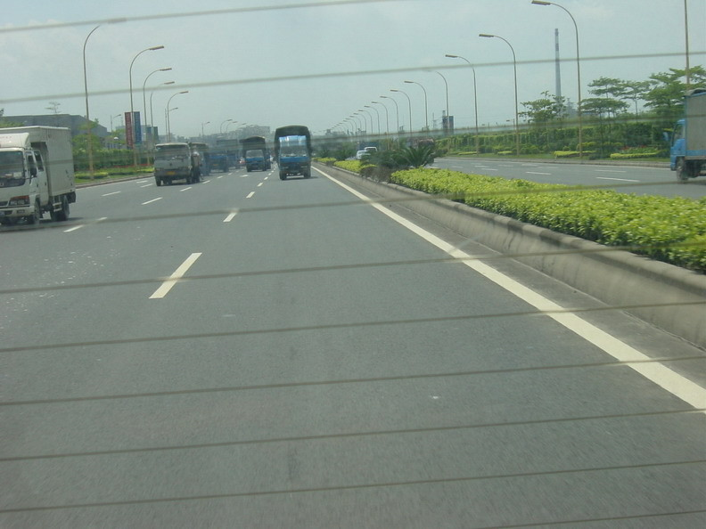 Vorallem LKW-Verkehr