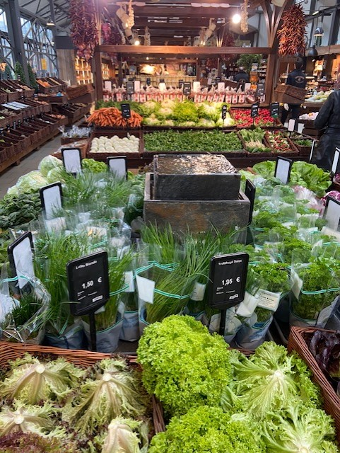 Gesunde Ernährung, Ernährungsberatung, Gemüse, Salat, Rohkost