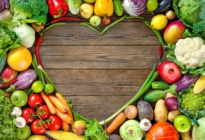 gesunde Ernährung Rohkost Vegan Veggies Gemüse gesund