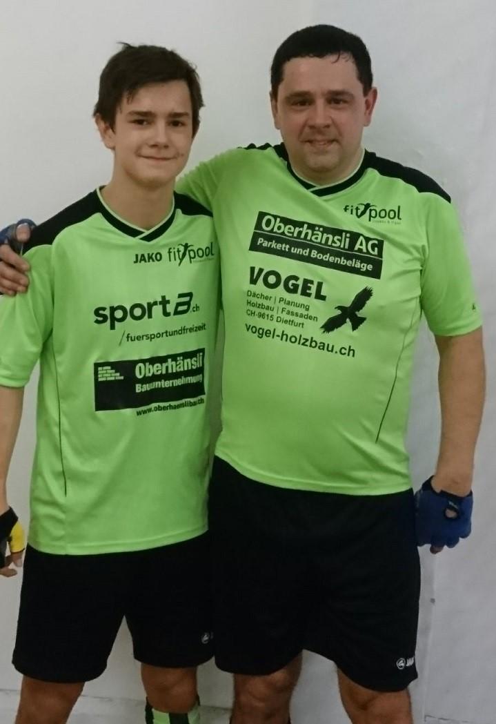Vater und Sohn Artho