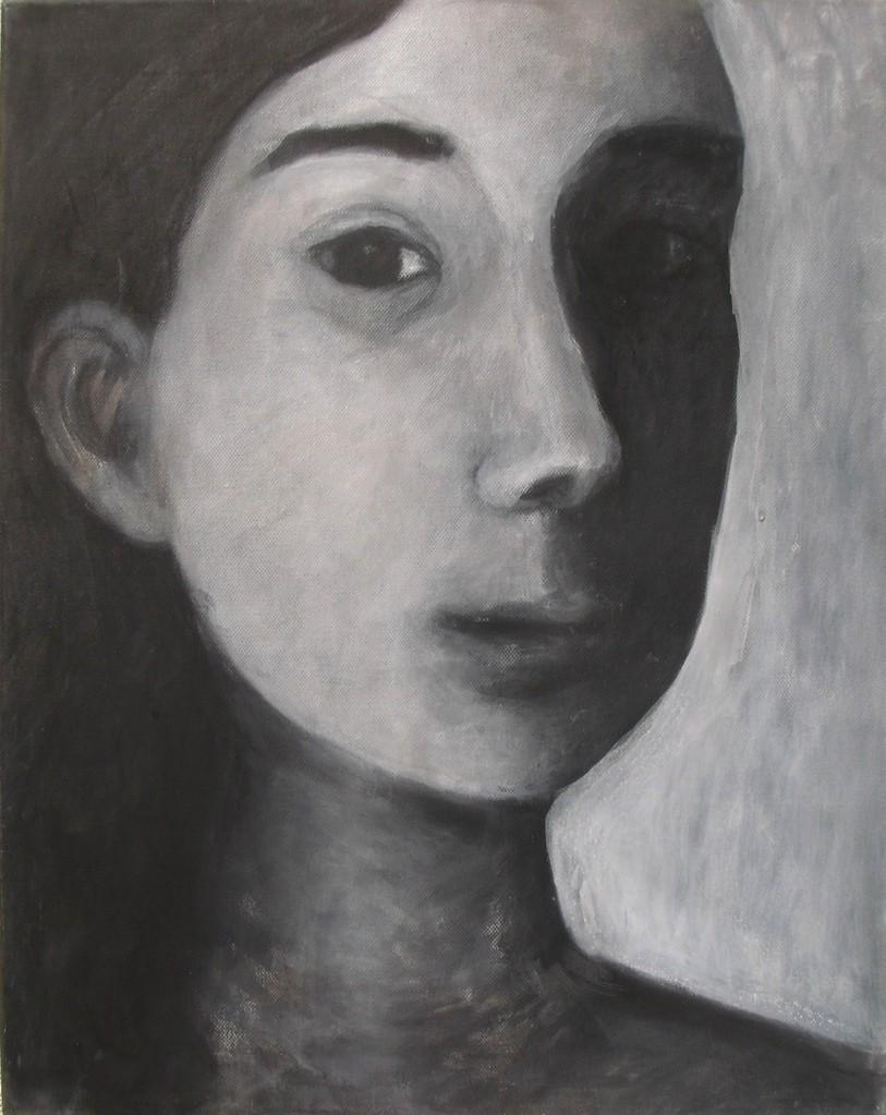Gesicht im Spiegel, I