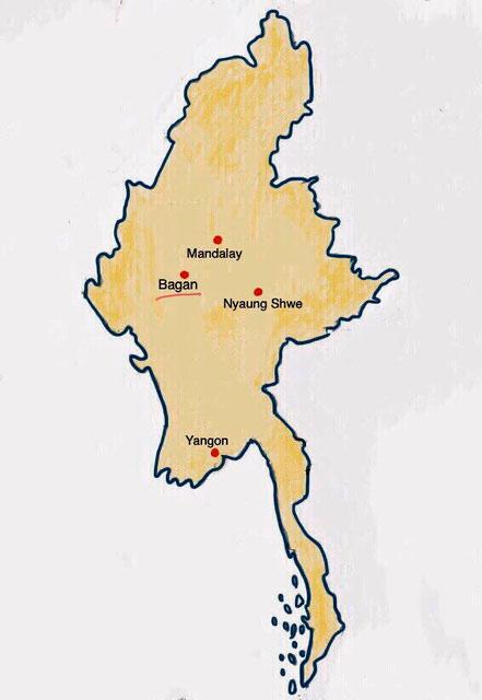 Myanmar - Bagan - Weltreise Blog und Reiseziele - Travel um die Welt