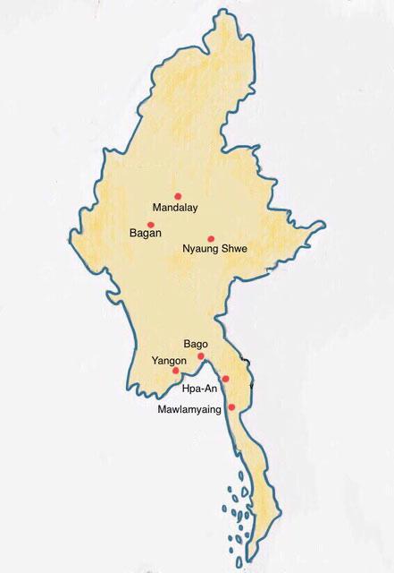 Myanmar - Weltreise Blog und Reiseziele - Travel um die Welt