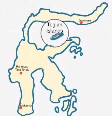 Sulawesi - Togian Islands - Weltreise Blog und Reiseziele - Travel um die Welt
