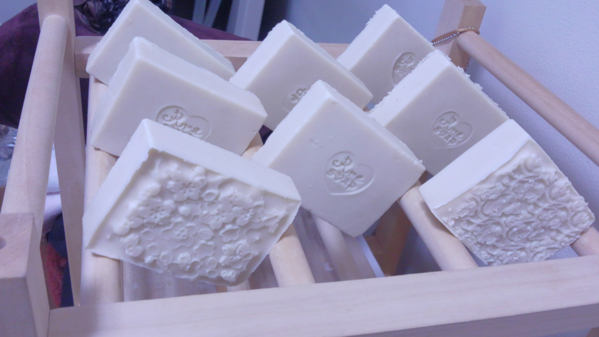 アロマクラフトで作った石鹸
