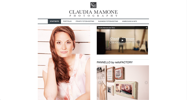 Website from Claudia Mamone