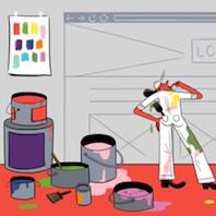 ホームページに最適な  配色を選ぶ方法