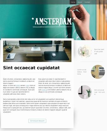 Amsterdamのサンプルサイト