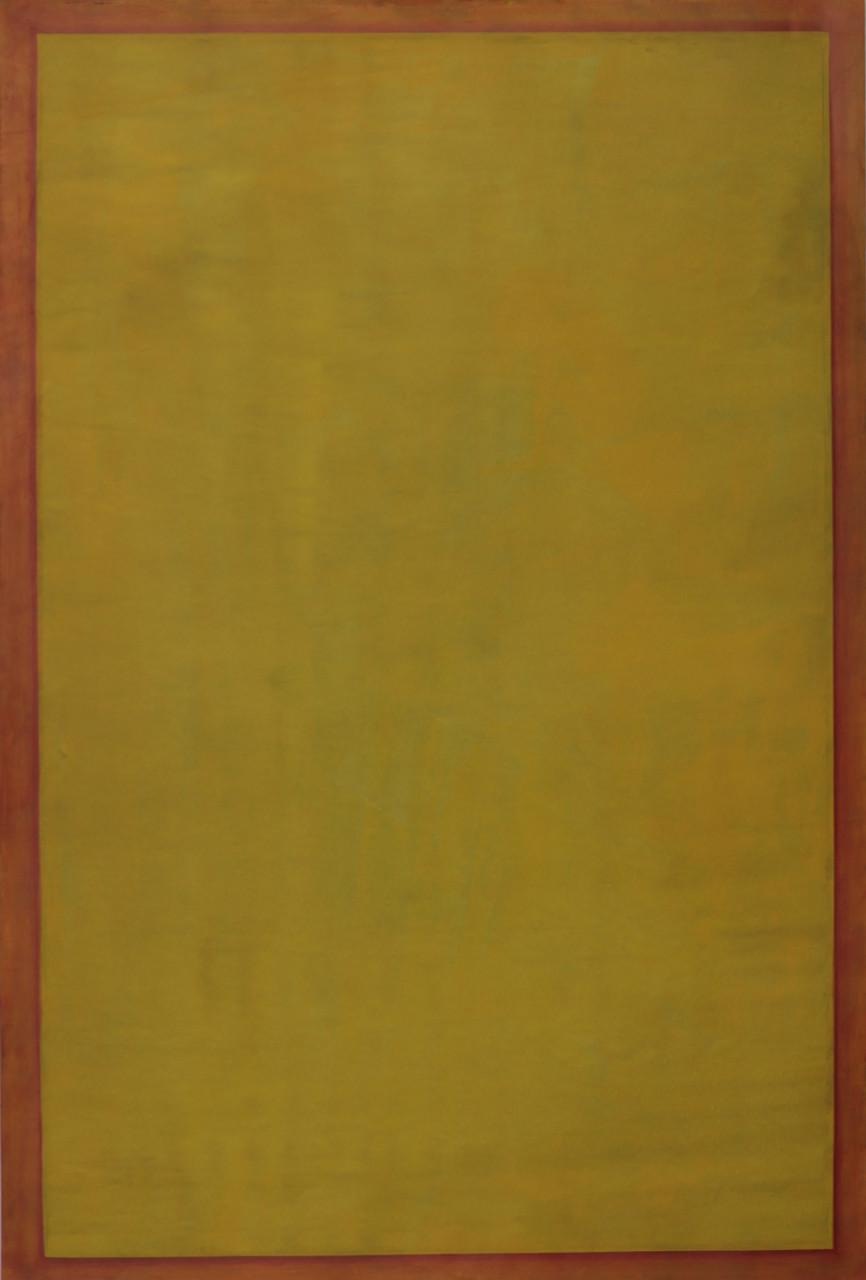 Ohne Titel, 2014, Öl auf Papier, 89 x 59 cm