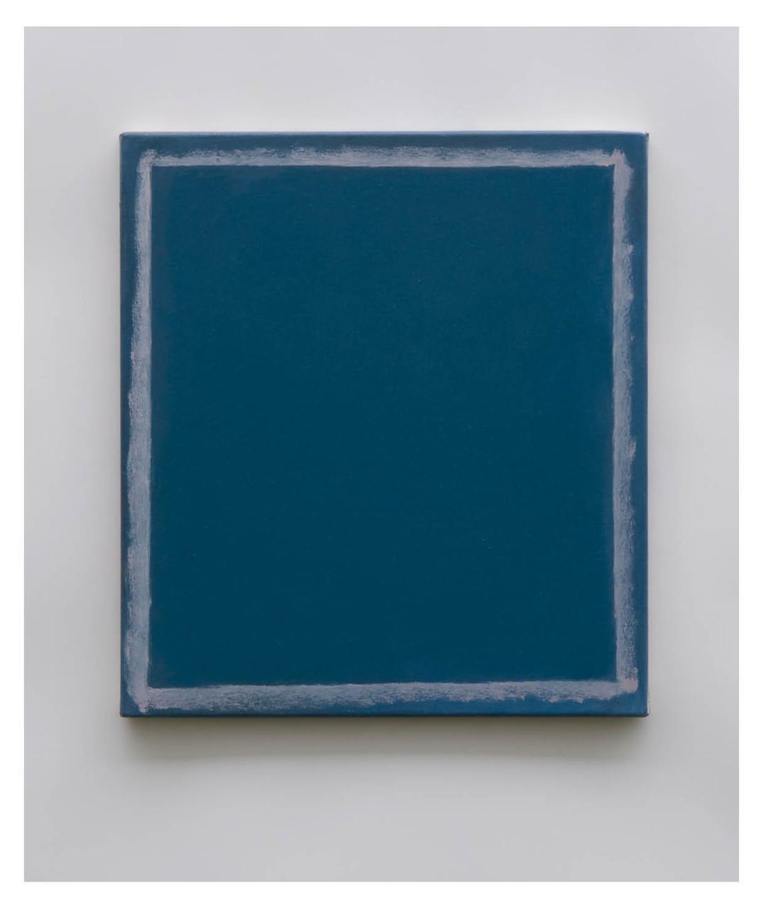 Ohne Titel, 2009, Öl auf Leinwand, 48 x 43 cm