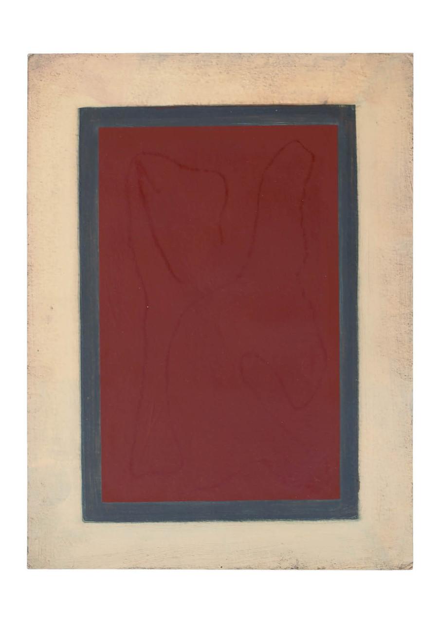 Ohne Titel, 2010, Öl auf Papier, 30,5 x 23 cm