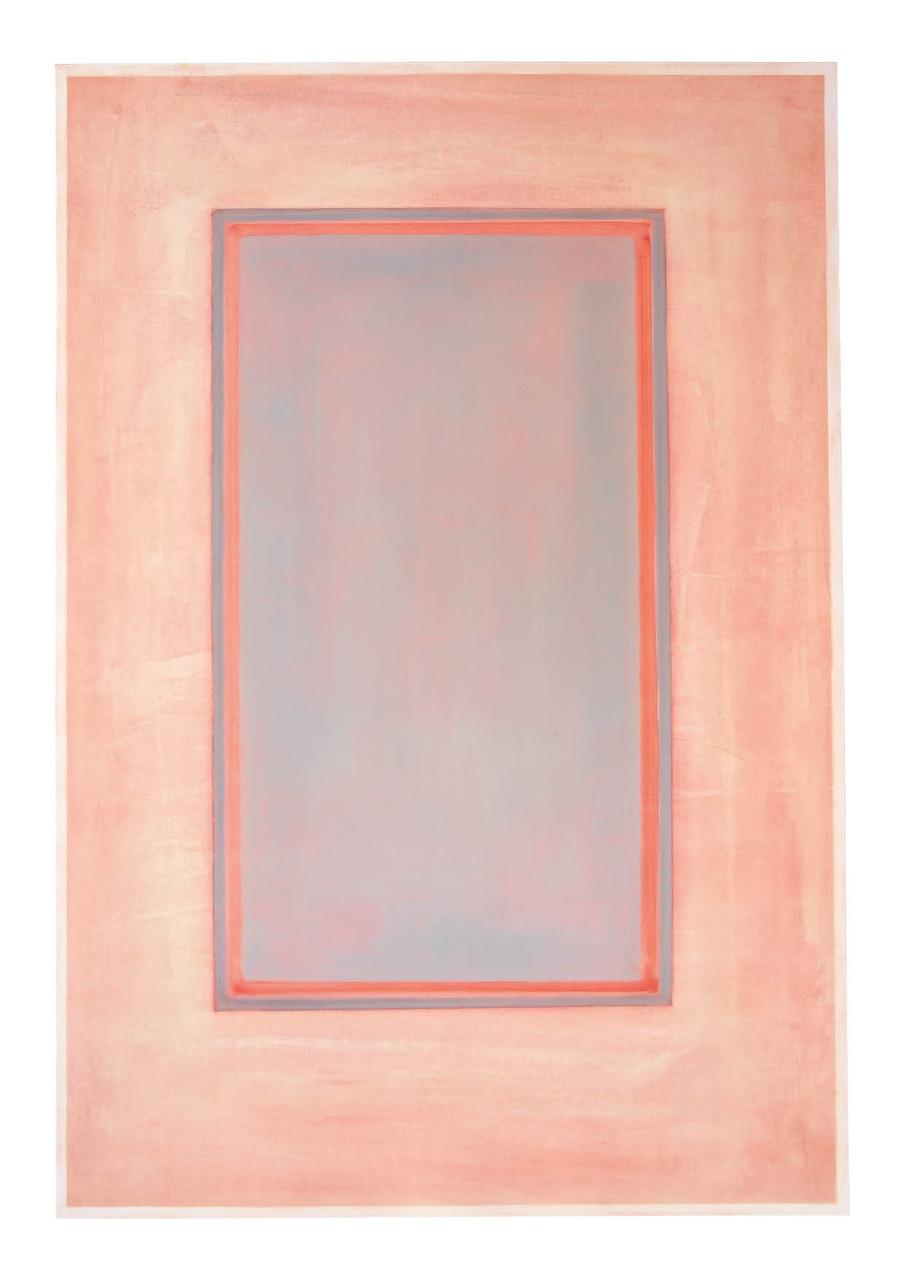 Ohne Titel, 2010, Öl auf Papier, 93 x 64 cm