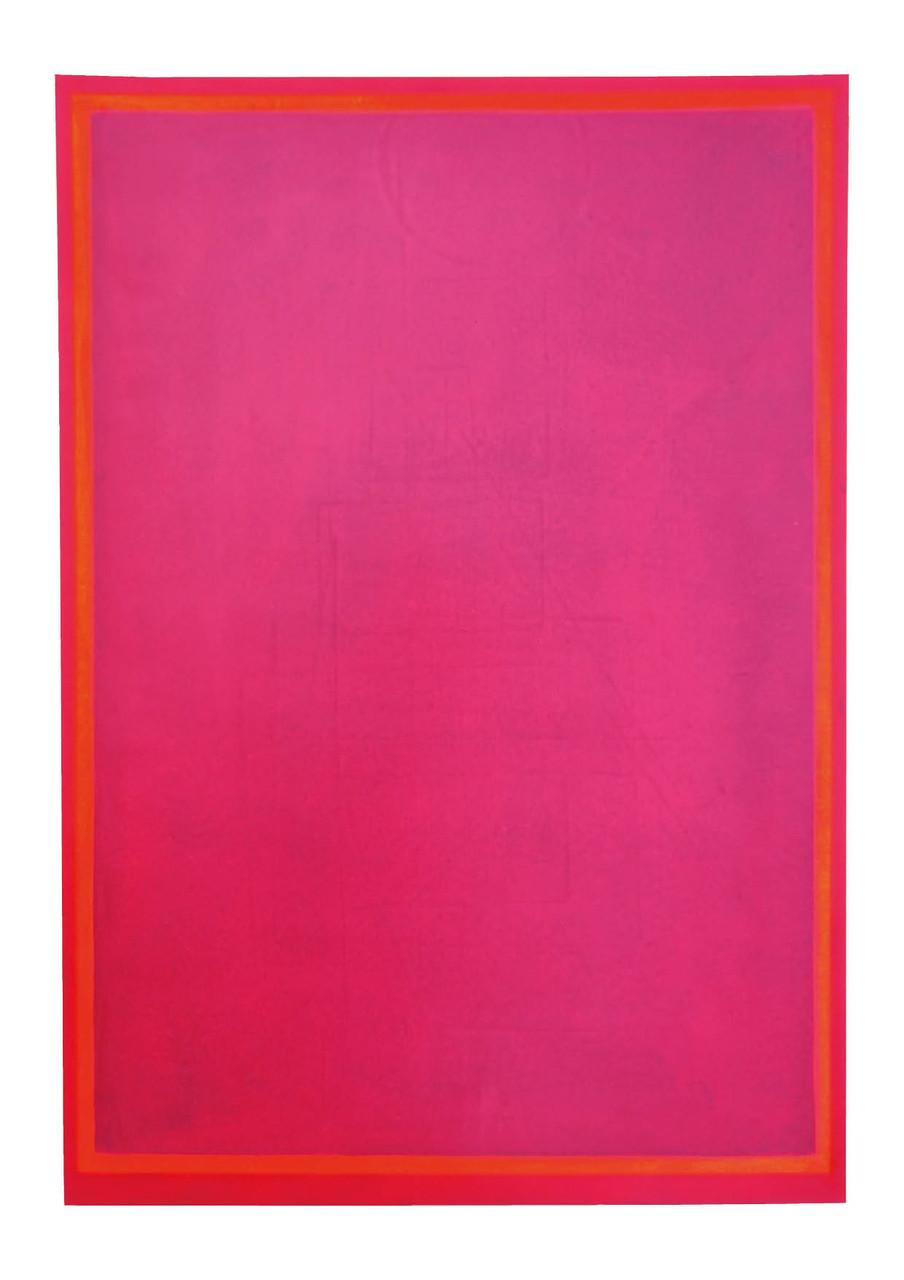 Ohne Titel, 2011, Offsetfarbe auf Papier, 69 x 48 cm