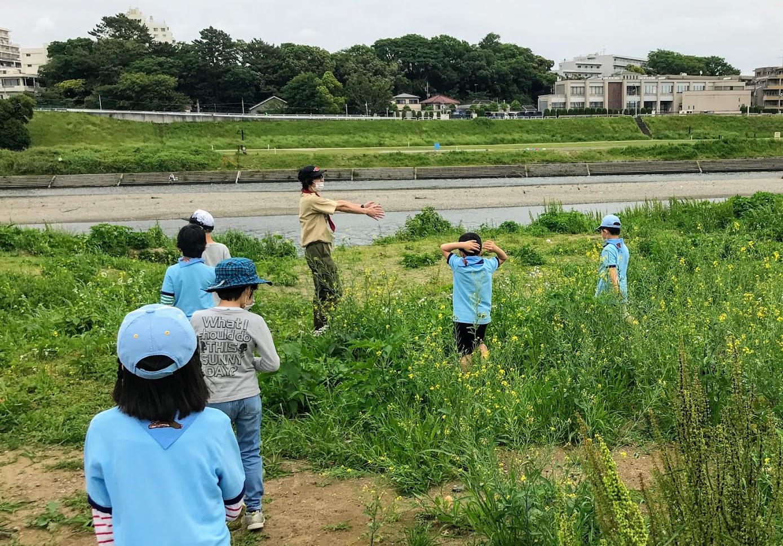 多摩川で遊ぼう!