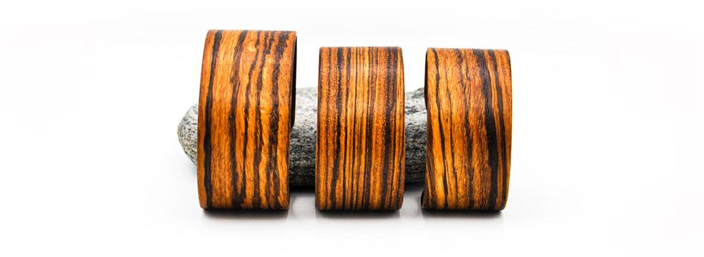 Holzarmreifen Holzschmuck Holzsalon