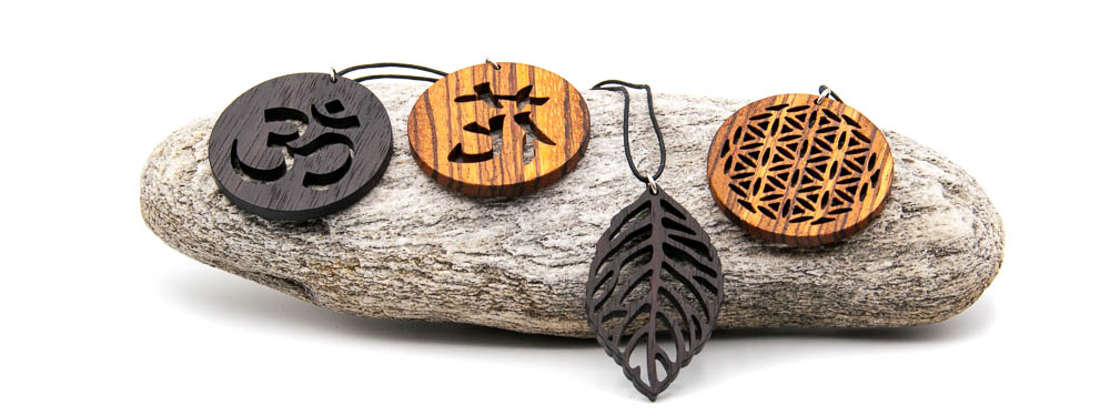 Holzkettenanhänger