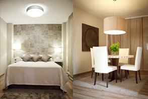 Salón-comedor y renovación dormitorio principal