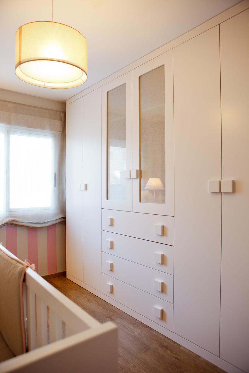 Dormitorio infantil tapidecor interiorismo y decoraci n - Habitacion infantil rosa ...