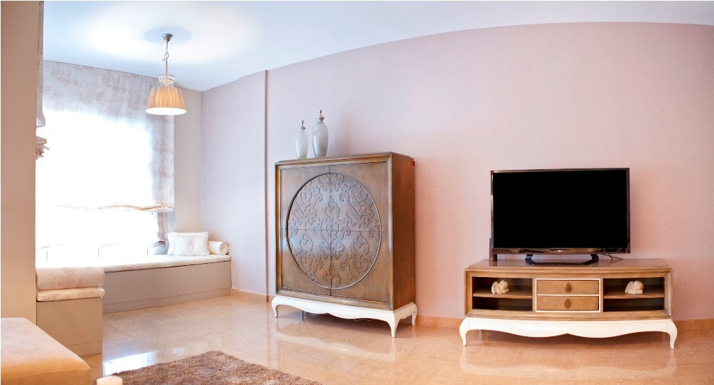 Vitrina y mueble TV
