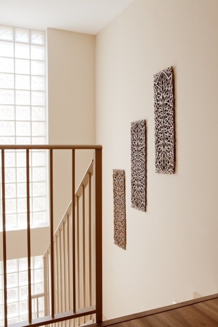 Cuadros verticales madera troquelada